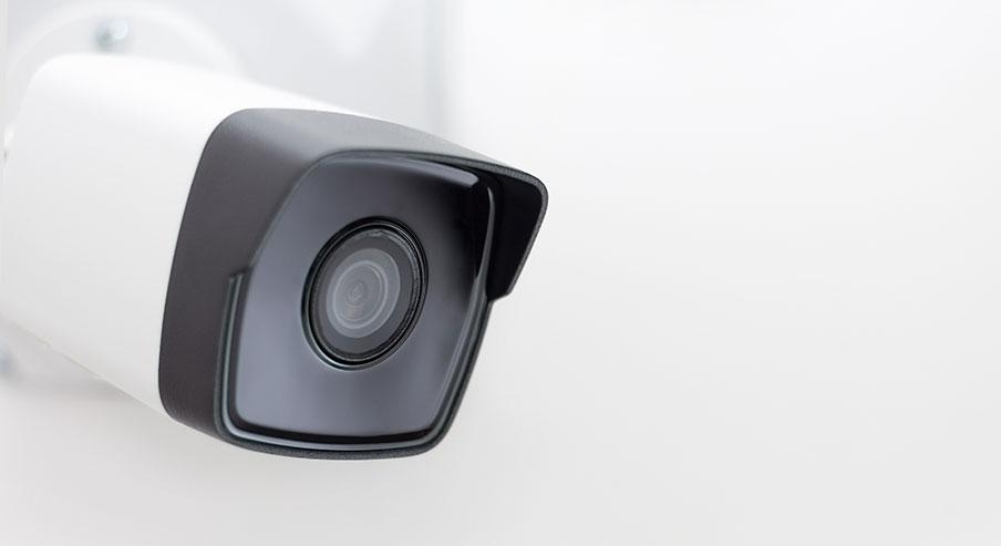 Så aktiveras larmet vid kamerabevakning
